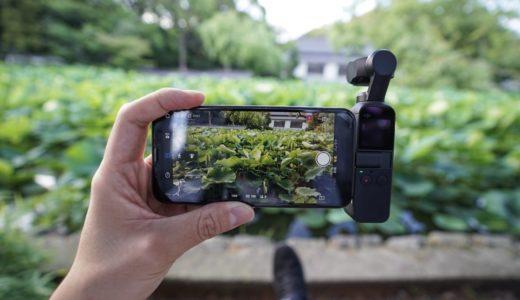 DJI Osmo Pocket レビュー。誰でも手軽に綺麗に撮れる魔法の小型ジンバルカメラ