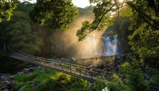 【宮崎県オススメの写真スポット】白鳥神社と関之尾滝で写真撮影