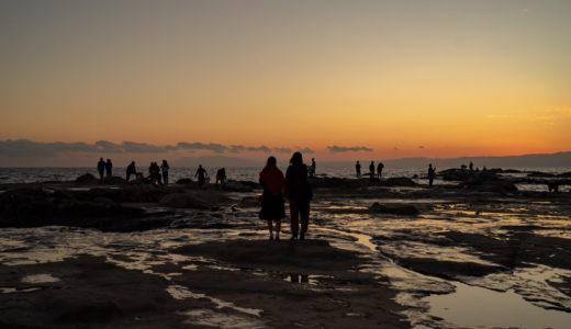【作例】batis 40mm F2で撮る 江ノ島の猫と夕日