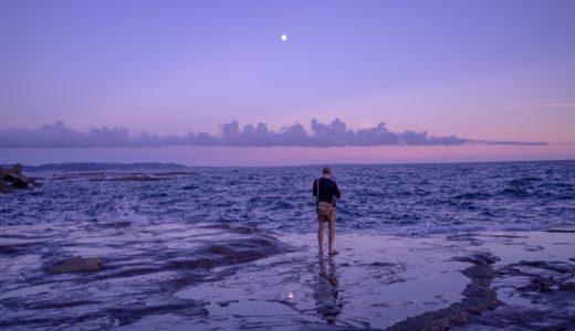 batis 40mm F2で撮る夕方の江ノ島